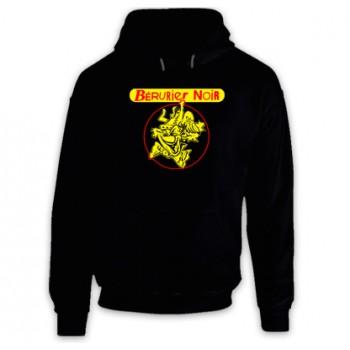 New Hoodie T-Shirt Bérurier noir Berurier Punk Band Logo Mens Tee Size S To 2XL
