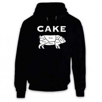 New Hoodie T Shirt Cake Alternative Music Rock Band Logo Mens Tee Sz S To 2XL