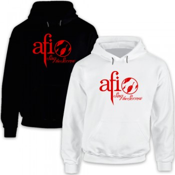 New Hoodie T Shirt AFI Sing The Sorrow A Fire Inside Alternative Rock Band Tee