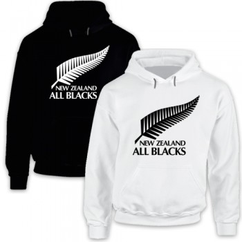 New Hoodie Tee T-Shirt New Zealand All Blacks National Rugby Union Team Mens
