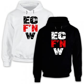 New Hoodie T-Shirt Classic Ec'fn'w Ecfnw Ecf'nw Cena Punk Ecw Logo Mens Tee Size S To 2XL