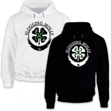 New Hoodie T-Shirt Flogging Molly Seven Piece Celtic Punk Band Music Logo Mens Tee Size S To 2XL