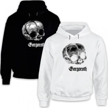 New Hoodie T-Shirt Gorgoroth Black Metal Band Logo Mens Tee Size S To 2XL