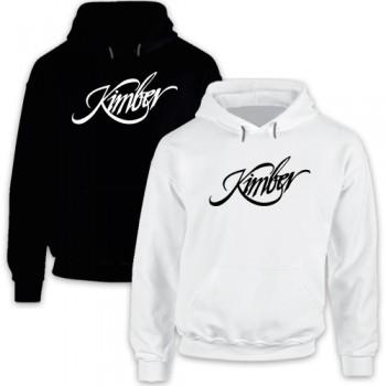New Hoodie T-Shirt Kimber Firearms Pistols Rifles Logo Mens Tee Sz S To 2XL