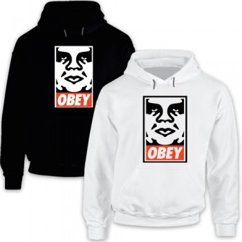 New Hoodie Tee T-Shirt Obey Shepard Fairey Andre the Giant Has a Posse Mens