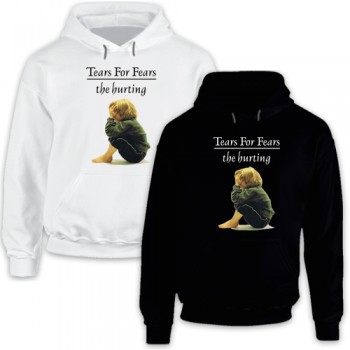 New Hoodie T-Shirt Tears For Fears The Hurting Greatest Hits Album Logo Mens Tee Size S To 2XL