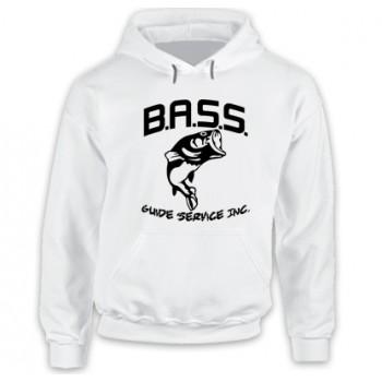 New Hoodie T Shirt Bassmaster Bass Fishing Metal Logo Mens Long Sleeve Tee Sz S-5XL