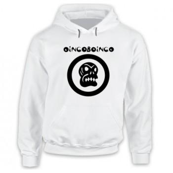 New Hoodie T Shirt Oingo Boingo Skull American Band Mens Rock Metal Mens Tee
