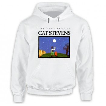 New Hoodie T Shirt The Very Best Of Cat Stevens Music Mens Tee Sz S To 2XL