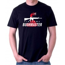 New T-Shirt Bushmaster Firearms Rifle Snake Logo Mens Tee Size S To 6XL