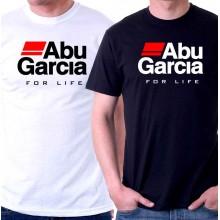 New T Shirt Abu Garcia Fear No Fish Fishing Reel For Life Mens Short Sleeve Tee