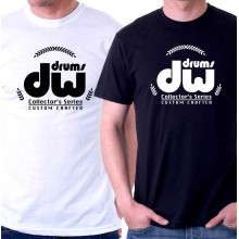 New Tee T-Shirt Dw Drums Collectors Series Custom Crafted Mens Size S To 5XL
