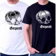 New T-Shirt Gorgoroth Black Metal Band Logo Mens Short Sleeve Tee Size S To 6XL