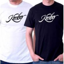 New T-Shirt Kimber Firearms Pistols Rifles Logo Mens Short Sleeve Tee Sz STo6XL