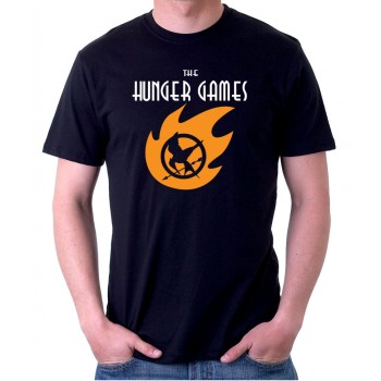 New Tee T-Shirt The Hunger Games Adventure Logo Mens Short Sleeve Size S To 5XL