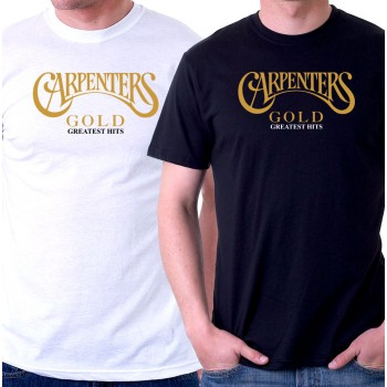 New T-Shirt The Carpenters Gold Greatest Hits Legend Mens Short Slv Tee Sz S-6XL