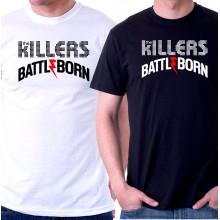 New Tee T-Shirt The Killers Battle Born Rock Band Mens Short Sleeve S-6XL