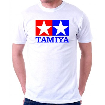 New T-Shirt Tamiya Legendary 90's Car Toy Classic Logo Mens Short Sleeve Tee S-6XL