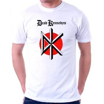 New Tee T-Shirt The Dead Kennedys Punk Rock Band Logo Mens Short Sleeve S-6XL