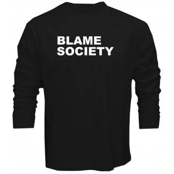 Blame Society Mens T shirt Jay Z Hip Hop Rap Tshirt Tee