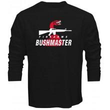 New T-Shirt Bushmaster Firearms Rifle Snake Logo Long Sleeve Tee Sz S-5XL
