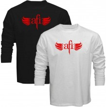 New Tee T-Shirt Afi Sing The Sorrow Alternative Rock Band Mens Long Sleeve Size S To 5XL
