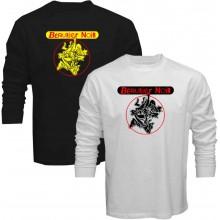 New T Shirt Bérurier noir Berurier Punk Band Logo Mens Long Sleeve Tee Sz S5XL