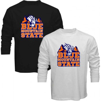 New Tee T-Shirt Blue Mountain State BMS Football TV Show The Goat ... 17ad0955afab