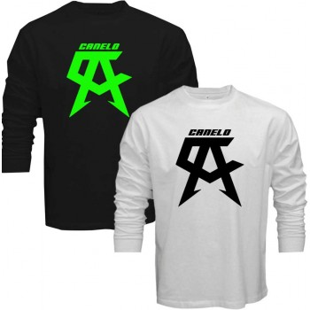 99706c5e6cfe New T-Shirt Saul Alvarez Canelo Boxing Champ Logo Long Sleeve Tee Size S To  5XL