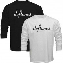 New Tee T-Shirt Deftones Rock Band Logo Adrenaline Mens Long Sleeve Sz S To 5XL