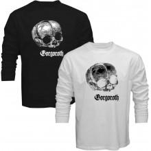 New T-Shirt Gorgoroth Black Metal Band Logo Mens Long Sleeve Tee Size S To 5XL