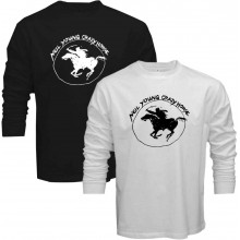 New Tee T-Shirt Neil Young Crazy Horse Harvest Moon Rock Legend Mens Long Sleeve