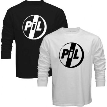Black T-Shirt White Logo Public Image Ltd