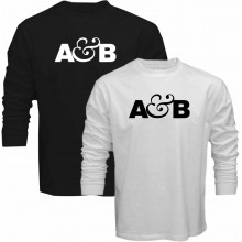 New T Shirt A&B Above and Beyond DJ Trance Music Mens Long Sleeve Tee Sz STo5XL