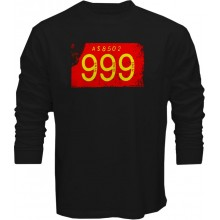 New T Shirt 999 Punk Rock Band Wave 1977 Mens Long Sleeve Tee Size S To 5XL