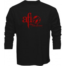 New T Shirt AFI Sing The Sorrow A Fire Inside Alternative Rock Band Long Slv Tee