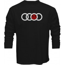 New T-Shirt Audi VW Volkswagen Logo Sports Racing Cars Long Sleeve Tees S5XL
