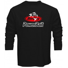New T Shirt Berkley Powerbait Power Bait Fishing Line Lures Rods Long Sleeve Tee