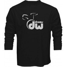 New T Shirt DW Drums Drumset Snare Maple Cymbal Mens Long Sleeve Tee Sz S To 5XL