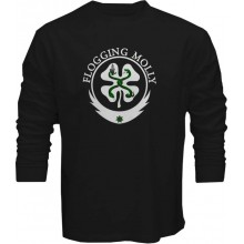 New T Shirt Flogging Molly Seven Piece Celtic Punk Band Music Long Sleeve Tee S5XL