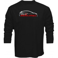 New T Shirt Ford Focus ST Sports Racing Cars Logo Outline Mens Long Sleeve Tee