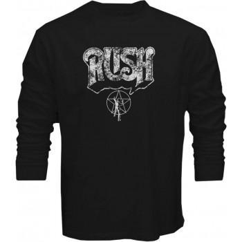 New T Shirt Rush Rock Band Geddy Lee Neil Peart Starman Men Long Sleeve Tee S5XL