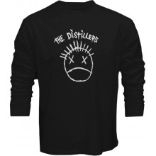 New Tee T-Shirt The Distillers Punk Rock Band Logo Mens Long Sleeve S-5XL