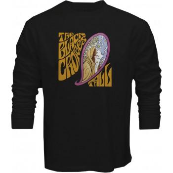 New T-Shirt The Black Crowes Tall Rock Band Logo Mens Long Sleeve Tee Sz S-5XL