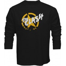 New T-Shirt The Clash Punk Rock Band Logo Mens Long Sleeve Tee Sz S To 5XL