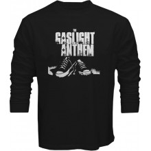 New Tee T-Shirt The Gaslight Anthem Rock Band Logo Mens Long Sleeve S-5XL