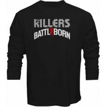 New Tee T-Shirt The Killers Battle Born Rock Band Mens Long Sleeve S-5XL
