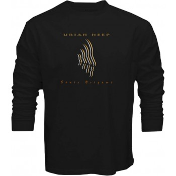 NEW Uriah Heep-Sonic Origami Rock Band Noir T-Shirt à Manches Longues Taille S-3XL