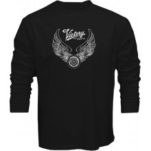 New T Shirt Victory Motorcycle USA Motor Muscle Mens Long Sleeve Tee Sz STo5XL