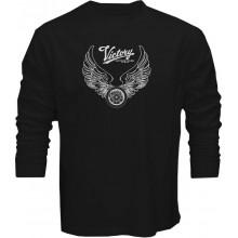 New T Shirt Victory Motorcycle USA Motor Muscle Mens Long Sleeve Tee Sz STo5XL